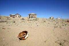 Kolmanskop spökstad Arkivbilder