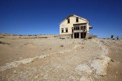 Kolmanskop spökstad Arkivfoton