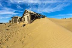 Kolmanskop spökstad Arkivbild