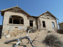 Kolmanskop spökstad, Namibia, Arkivbilder