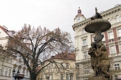 Kolmarknaden i Prague Fotografering för Bildbyråer