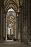 Koln cathedral interior. Inside the great cathedral of koln Stock Images