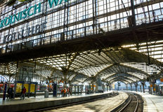 Koln Hauptbahnhof, Cologne, Germany Royalty Free Stock Photo