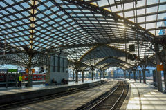 Koln Hauptbahnhof (2), Colonia, Germania Fotografie Stock