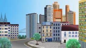 Kolońscy budynki wolno układający