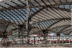 Koloński główny dworzec Zdjęcia Royalty Free