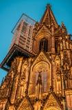 Koloński katedry wierza obraz royalty free