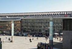 Kolońska centrali stacja Fotografia Stock
