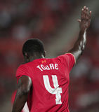 Kolo Toure of Liverpool Royalty Free Stock Photography