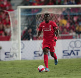 Kolo Toure of Liverpool Royalty Free Stock Photo