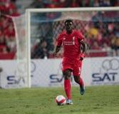 Kolo Toure von Liverpool Lizenzfreies Stockfoto