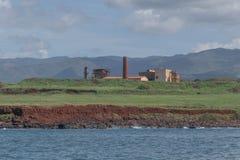 Koloa Sugar Mill lizenzfreie stockbilder