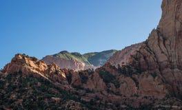 Kolob锡安国家公园18 免版税库存图片