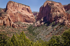 Kolob Canyon Royalty Free Stock Photos