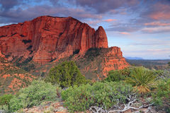 Kolob canyon. Royalty Free Stock Photography