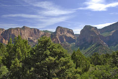 Kolob Canyon in Zion National Park Stock Photography