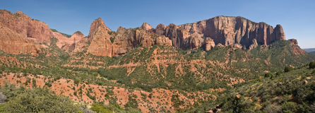 Kolob Canyons Royalty Free Stock Images