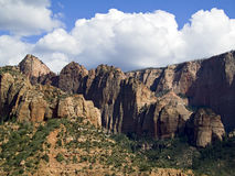 Kolob Canyons District of Zion NP, Utah Stock Images