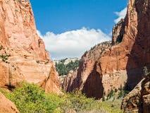 Kolob Canyons Landscape Stock Photo