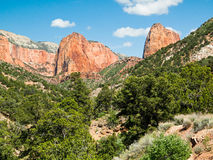 Kolob Canyons Landscape Royalty Free Stock Photos