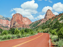 Kolob Canyons Road Stock Image