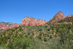 Kolob Canyons Zion Royalty Free Stock Photography