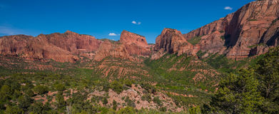 Kolob Canyons Zion National Park Royalty Free Stock Images