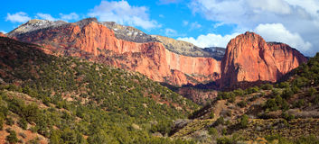 Kolob Finger Canyons Royalty Free Stock Photos