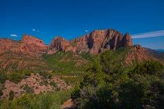 Kolob jarów Zion park narodowy Obrazy Stock