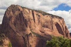 Kolob kanjoner -- Zion National Park Arkivfoton