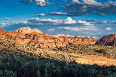 Kolob plateau in zion national park Royalty Free Stock Photo