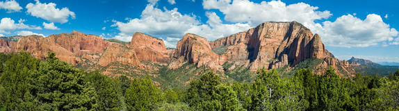 Kolob Summits Panorama Royalty Free Stock Photos