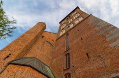 Kolobrzeg Cathedral Church, Poland Stock Image