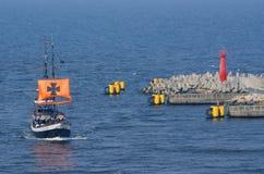 Kolobrzeg - feriados no mar Báltico Imagem de Stock