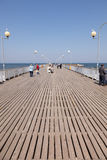 Kolobrzeg Pier Royalty Free Stock Photos