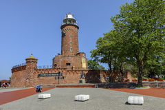 Kolobrzeg Poland The lighthouse, Landscape Stock Photos