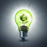 Ökologische Idee Stockfoto