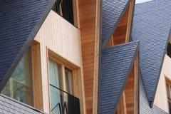 Ökologisches Gebäude Stockbild