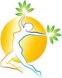 Ökologisches Logo Stockfoto