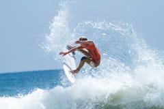 Kolohe Andino en los 2011 E.E.U.U. se abre de practicar surf Foto de archivo libre de regalías