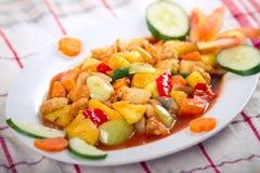 Koloke squisito (alimento asiatico/alimento cinese) immagine stock