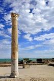 Kolom in Carthago stock fotografie