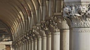 Kolom van het Paleis van de Doge Royalty-vrije Stock Afbeelding