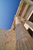 Kolom van Parthenon Stock Foto