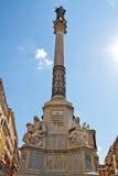 Kolom van Vlekkeloos in Rome, Italië Royalty-vrije Stock Foto