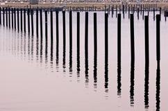 Kolom in water Stock Afbeelding