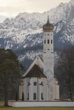 Koloman Chuch in Hohenschwangau Stock Photography