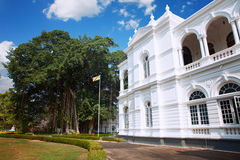 Kolombo, Sri Lanka - 11 2017 Luty: Muzeum Narodowe Kolombo bogatą kolekcję Azjatyckie sztuki Fotografia Stock