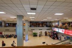 KOLOMBO SRI LANKA, MARZEC, - 2013: Wnętrze Bandaranaike lotnisko międzynarodowe Fotografia Royalty Free