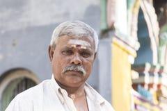KOLOMBO, SRI luty 2nd 2017: Portret hinduski mężczyzna Obraz Royalty Free